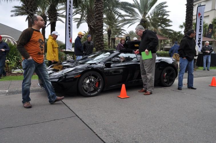 2014 McLaren 12C Spider Is Mobbed in Amelia Island! Failed Drop-top Animations 26