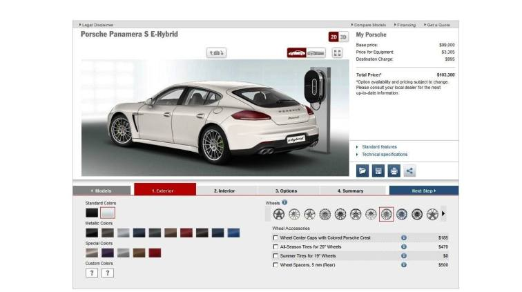 2014 Porsche Panamera S E-Hybrid -- 30 Real-Life Photos -- Live Configurator Link + 80 Images of Options, All Colors and All Wheels 12