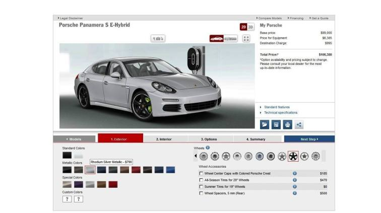 2014 Porsche Panamera S E-Hybrid -- 30 Real-Life Photos -- Live Configurator Link + 80 Images of Options, All Colors and All Wheels 23
