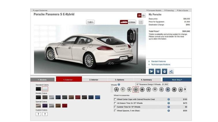 2014 Porsche Panamera S E-Hybrid -- 30 Real-Life Photos -- Live Configurator Link + 80 Images of Options, All Colors and All Wheels 8