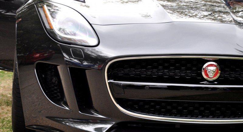 2015 JAGUAR F-TYPE R Coupe -- Lifts Its Bonnet to Show 550HP 5.0-liter V8 9