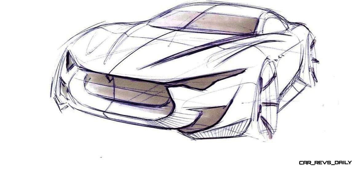 Alfieri Maserati Concept -- Analytical Assessment of the Trident's Flagship Prototype -- 52 Photos, Sketches, Reveal Images 33