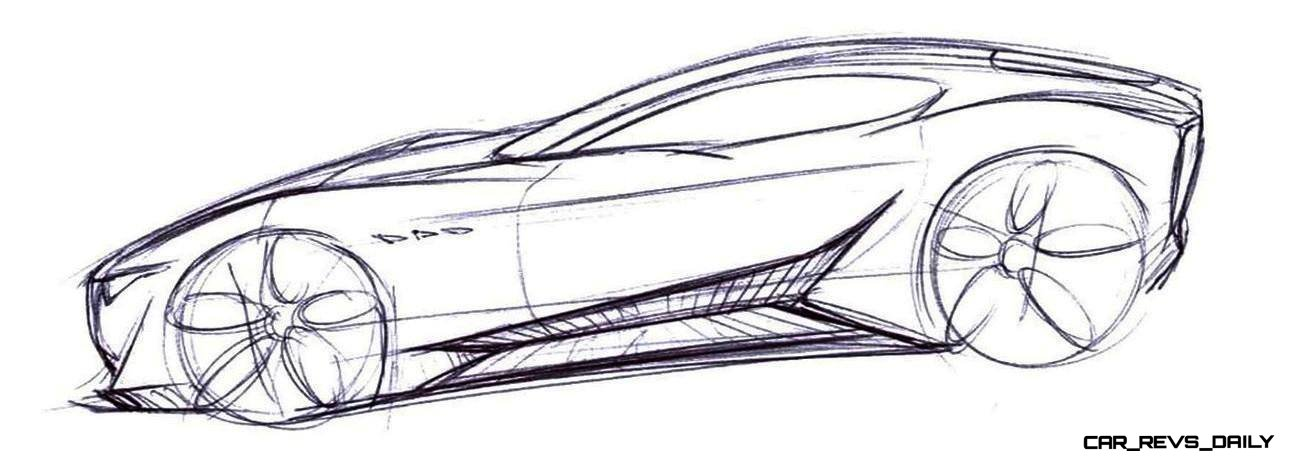 Alfieri Maserati Concept -- Analytical Assessment of the Trident's Flagship Prototype -- 52 Photos, Sketches, Reveal Images 35