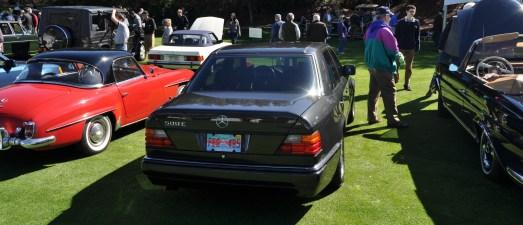 Amelia Concours -- Marque Showcases -- Mercedes-Benz 219 Peking-to-Paris, 220SE (Coupe), 250SL Pagoda and Even 500E HAMMER 1