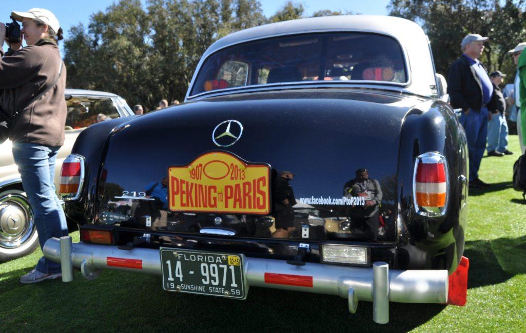 Amelia Concours -- Marque Showcases -- Mercedes-Benz 219 Peking-to-Paris, 220SE (Coupe), 250SL Pagoda and Even 500E HAMMER 28