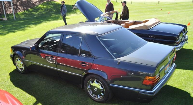 Amelia Concours -- Marque Showcases -- Mercedes-Benz 219 Peking-to-Paris, 220SE (Coupe), 250SL Pagoda and Even 500E HAMMER 5