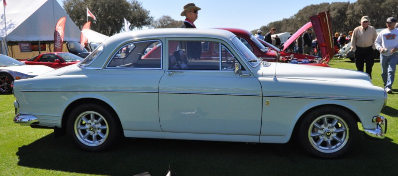 Amelia Island 2014 -- Marque Highlights -- VOLVO PV444 and 122S Amazon Coupe -- Pre-Dating BMW 3 series Ancestors 11