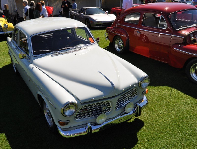 Amelia Island 2014 -- Marque Highlights -- VOLVO PV444 and 122S Amazon Coupe -- Pre-Dating BMW 3 series Ancestors 18