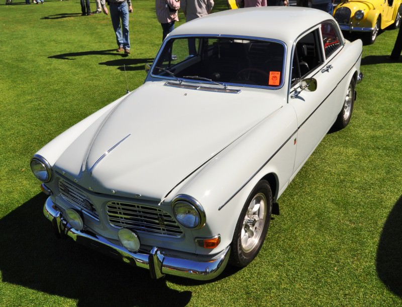 Amelia Island 2014 -- Marque Highlights -- VOLVO PV444 and 122S Amazon Coupe -- Pre-Dating BMW 3 series Ancestors 20