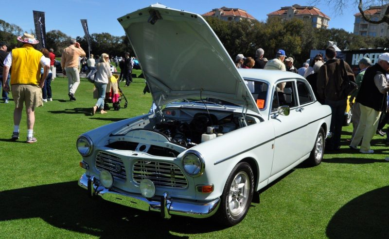 Amelia Island 2014 -- Marque Highlights -- VOLVO PV444 and 122S Amazon Coupe -- Pre-Dating BMW 3 series Ancestors 4