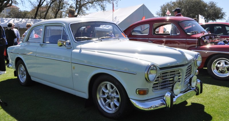 Amelia Island 2014 -- Marque Highlights -- VOLVO PV444 and 122S Amazon Coupe -- Pre-Dating BMW 3 series Ancestors 8