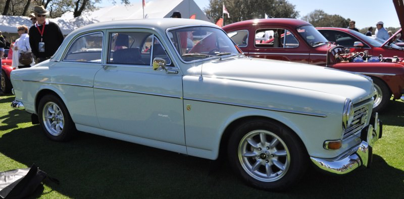 Amelia Island 2014 -- Marque Highlights -- VOLVO PV444 and 122S Amazon Coupe -- Pre-Dating BMW 3 series Ancestors 9