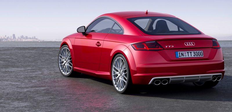 Audi TT is Fighting Fit for 2015 -- Ultra-Simple, High-Tech Interior + TT SQC Promises 3.6s 60-mph Sprint 3
