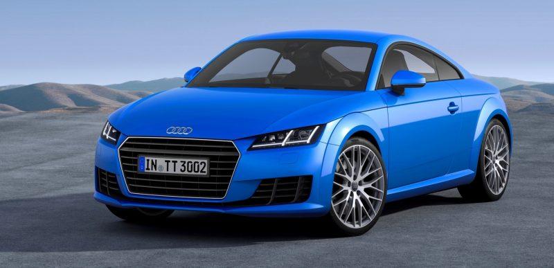 Audi TT is Fighting Fit for 2015 -- Ultra-Simple, High-Tech Interior + TT SQC Promises 3.6s 60-mph Sprint 31