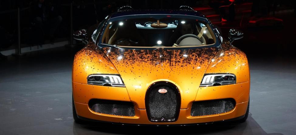 BUGATTI Marque Showcase -- Geneva, Salon Prive and Pebble Beach -- Veyron Vitesse and GS Rembrandt -- Plus Venet, Jean Bugatti, L'Or Blanc and GS Vitesse 38