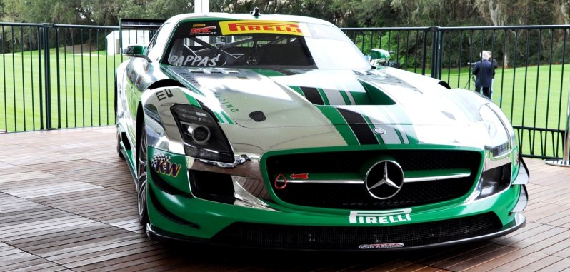 Black Swan SLS AMG GT3 In Detail -- Incredibly Fascinating Aerodynamic Solutions Under Disguise Mirror Wraps 2