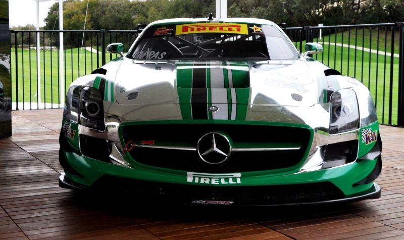 Black Swan SLS AMG GT3 In Detail -- Incredibly Fascinating Aerodynamic Solutions Under Disguise Mirror Wraps 3