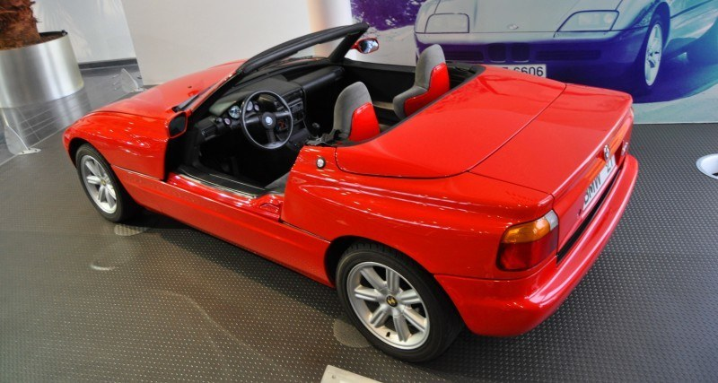 Car Museums Showcase -- 1989 BMW Z1 at Zentrum in Spartanburg, SC -- High Demand + High Price Led Directly to US-Built Z3 3