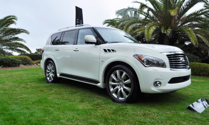 Car-Revs-Daily.com -- 2014 INFINITI QX80 Buyers Guide, Pricing, Colors and Specs 104