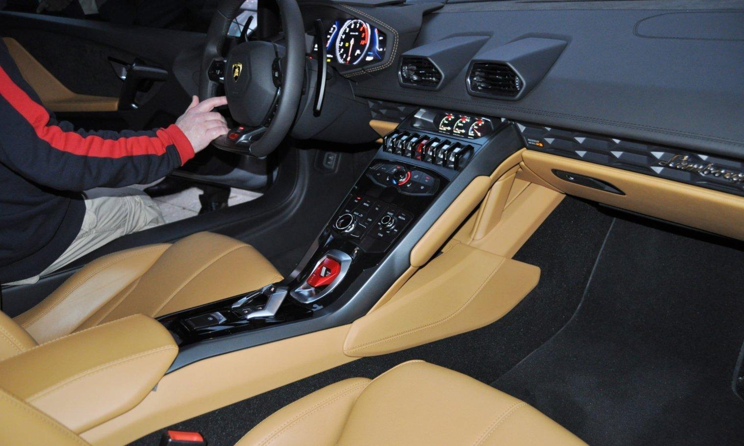 Car-Revs-Daily.com -- 2015 Lamborghini Huracan -- Official American Debut  39