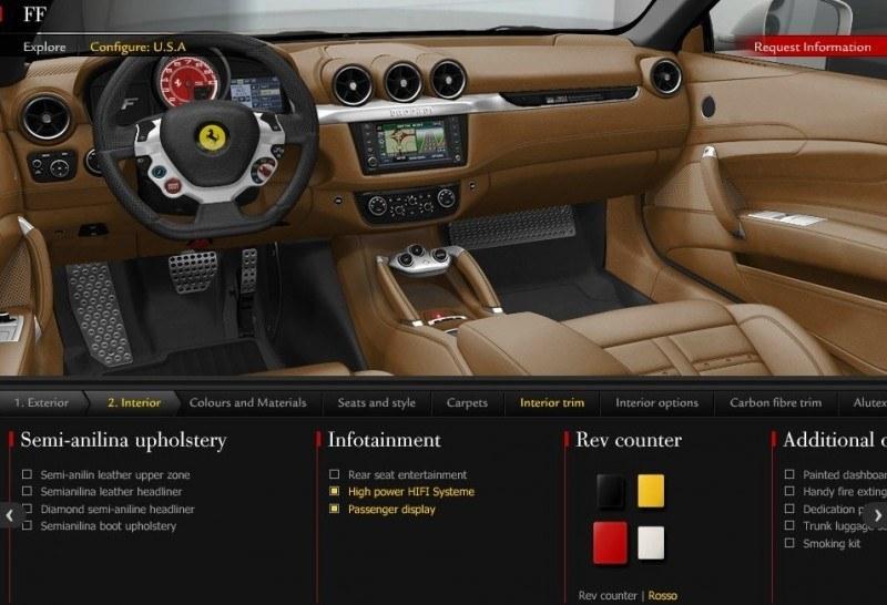 Car-Revs-Daily.com -- Ferrari FF is Monday-Sunday V12 Supercar 117