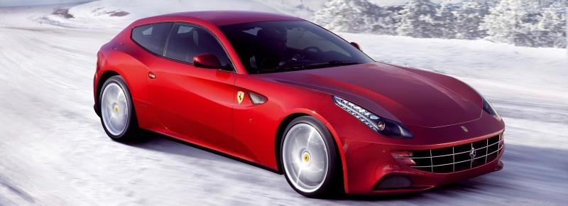 Car-Revs-Daily.com -- Ferrari FF is Monday-Sunday V12 Supercar 205