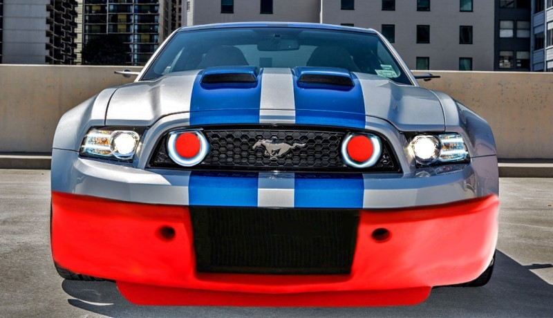 Car-Revs-Daily.com #INAMUSTANG Entry Modern GT350R Outdoor Group 35