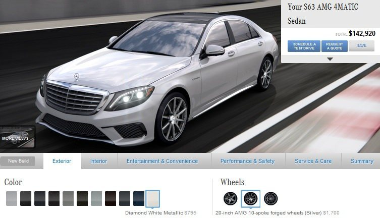 Car-Revs-Daily.com -- Mercedes-Benz S65 and S63 AMG 4MATIC -- Cool Buyers Guide Intel -- 40 Real-Life Photos and Animated Option Visualizers 14