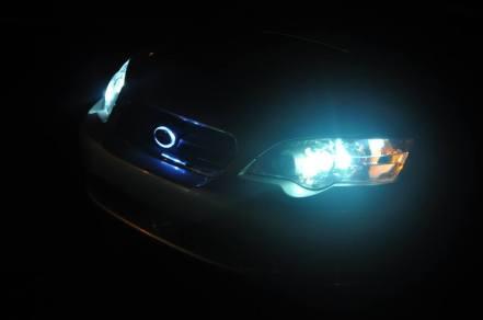 DIY LED lights and LED subaru badge emblem_7695843900_l