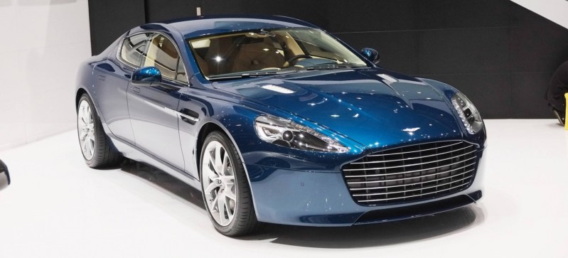 Geneva 2014 ShowFloor Gallery -- Aston Martin Rapide S and Vantage S V12 Wearing N420-Inspired Livery 7