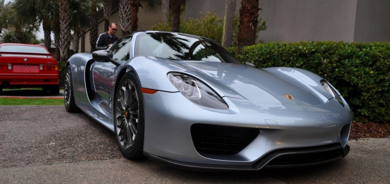 HyperCar HyperGalleries! 2015 Porsche 918 Spyder -- 77 All-New, High-Resolution Photos From All Angles 1