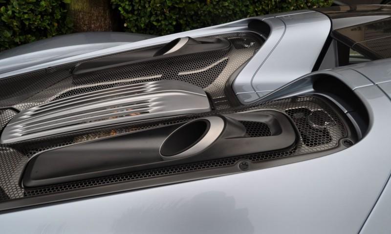 HyperCar HyperGalleries! 2015 Porsche 918 Spyder -- 77 All-New, High-Resolution Photos From All Angles 69