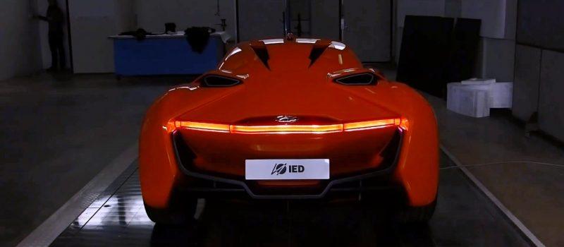 Hyundai PassoCorto Sports Car Is Torino Design Vision Come to Life!  Innovative Folded Surfacing + Hidden Cameras Replace Rear Glass 20