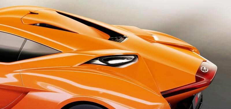 Hyundai PassoCorto Sports Car Is Torino Design Vision Come to Life!  Innovative Folded Surfacing + Hidden Cameras Replace Rear Glass 7