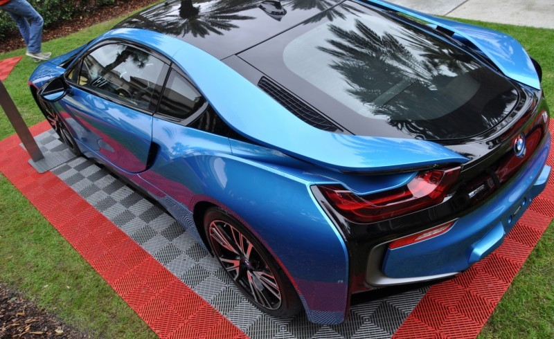Inimitable Future-Tech 2015 BMW i8 Feeling Chummy with Concept M4 and 1980 BMW M1 -- Fleming Flashbacks 15