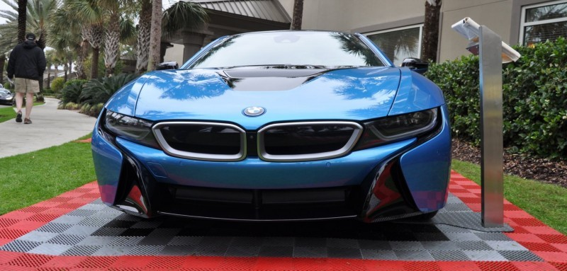 Inimitable Future-Tech 2015 BMW i8 Feeling Chummy with Concept M4 and 1980 BMW M1 -- Fleming Flashbacks 17