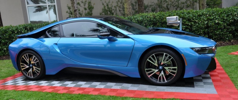 Inimitable Future-Tech 2015 BMW i8 Feeling Chummy with Concept M4 and 1980 BMW M1 -- Fleming Flashbacks 4