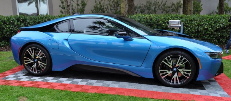 Inimitable Future-Tech 2015 BMW i8 Feeling Chummy with Concept M4 and 1980 BMW M1 -- Fleming Flashbacks 5