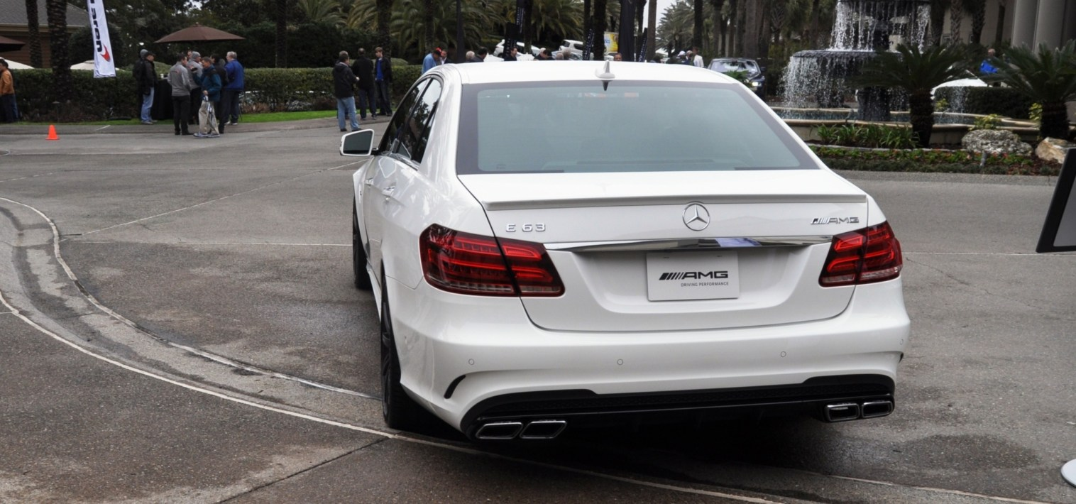 The White Knight -- 2014 Mercedes-Benz E63 AMG 4Matic S-Model On Camera + 21 All-New Photos 18