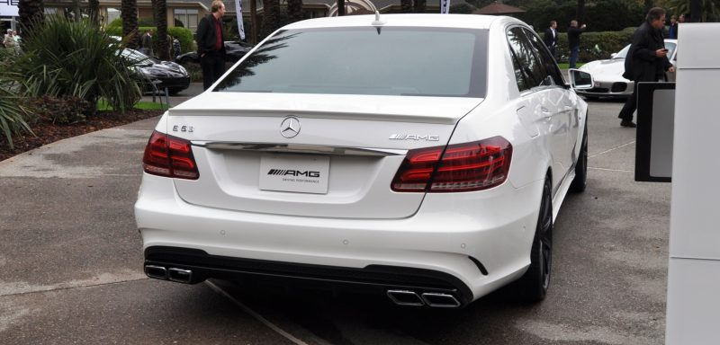 The White Knight -- 2014 Mercedes-Benz E63 AMG 4Matic S-Model On Camera + 21 All-New Photos 21
