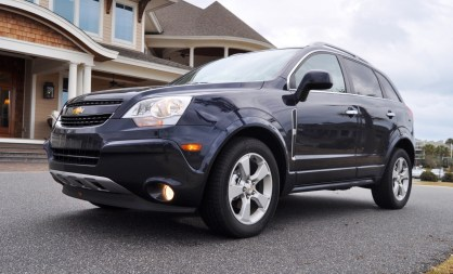 Three-Part HD Road Test Review + 60 Photos -- 2014 Chevrolet Captiva Sport LT -- Euro-Capable, High-Speed EconoCross!33