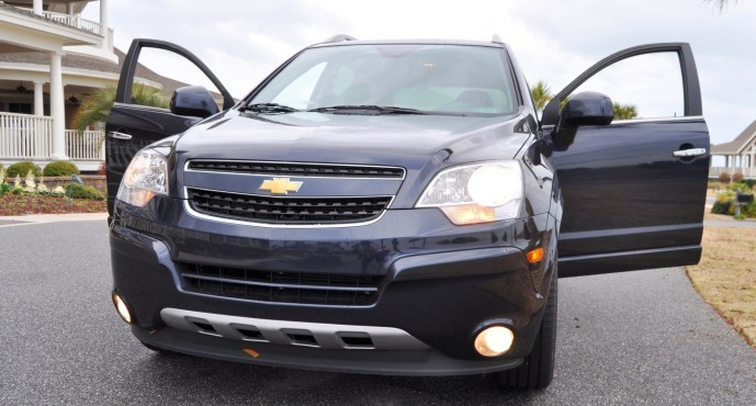 Three-Part HD Road Test Review + 60 Photos -- 2014 Chevrolet Captiva Sport LT -- Euro-Capable, High-Speed EconoCross!49
