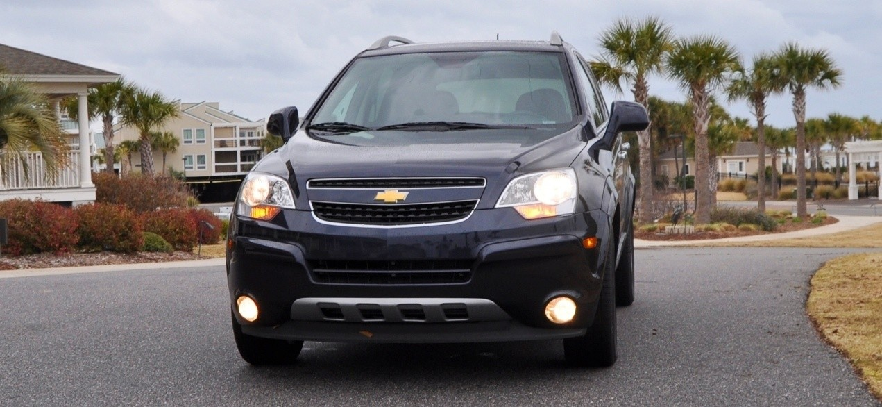 Three-Part HD Road Test Review + 60 Photos -- 2014 Chevrolet Captiva Sport LT -- Euro-Capable, High-Speed EconoCross!5