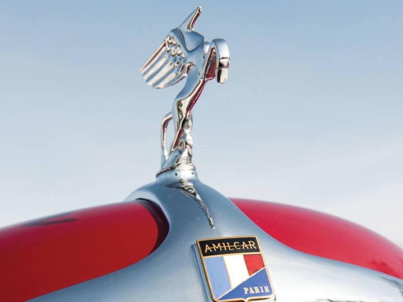 Video Walk-Around + 33 Photos -- 1935 Amilcar G36 Pegasé Boattail Roadster -- RM Auctions Amelia 2014 $467k 8