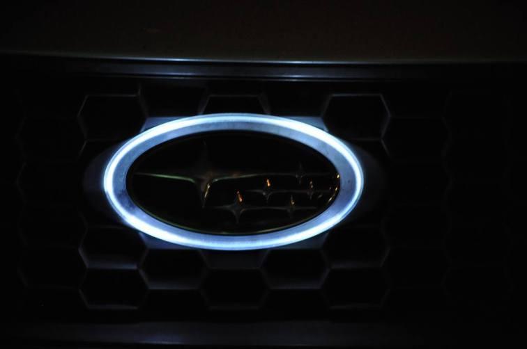subaru legacy gt DIY led headlights and emblem_8216486894_l