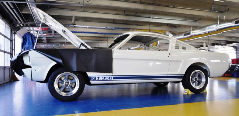 1966 Shelby Mustang GT350 Racecar Awaits Engine Buildout at Charlotte Motor Speedway 15