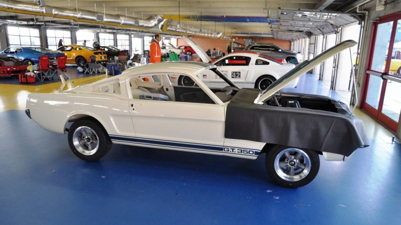 1966 Shelby Mustang GT350 Racecar Awaits Engine Buildout at Charlotte Motor Speedway 6