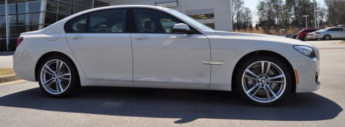 2014 BMW 750Li Definitely Not Beautiful or Focused -- But Less Adrift as SWB 750i with Squared-Off LED Lights Option 16