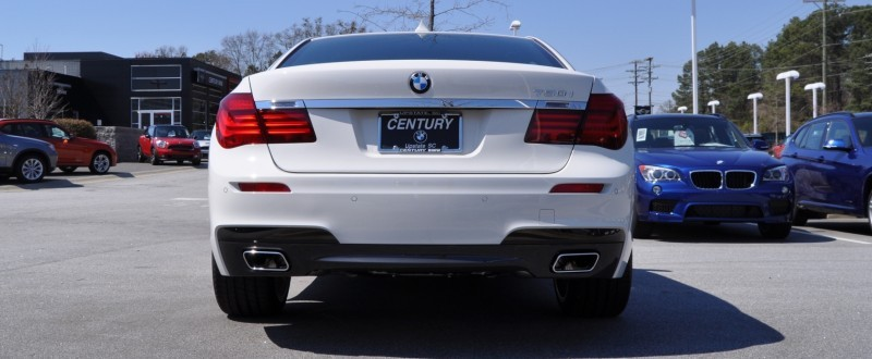 2014 BMW 750Li Definitely Not Beautiful or Focused -- But Less Adrift as SWB 750i with Squared-Off LED Lights Option 24
