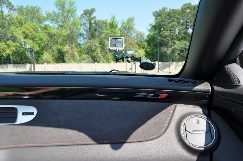 2014 Camaro ZL1 Convertible Blasts Off in Wild Sprint Starts -- 2 In-Car and 1 HD GoPro Hood-mounted Video 4